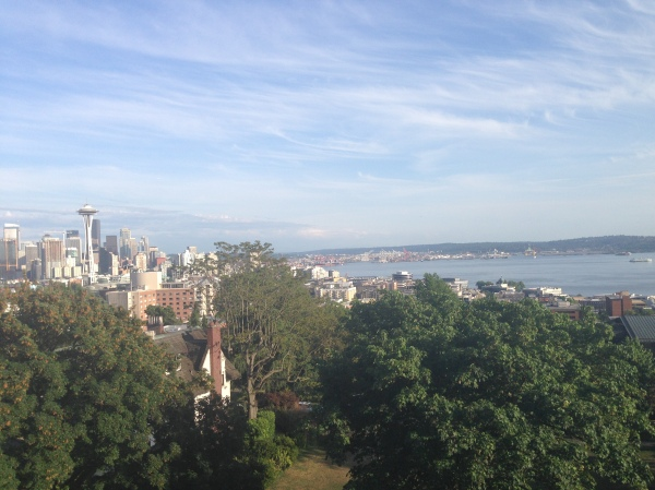 View of Seattle skyline from Kerry Park.
