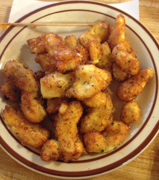 Cheese Curds from Yeung's Dairy in Dayton, Ohio.