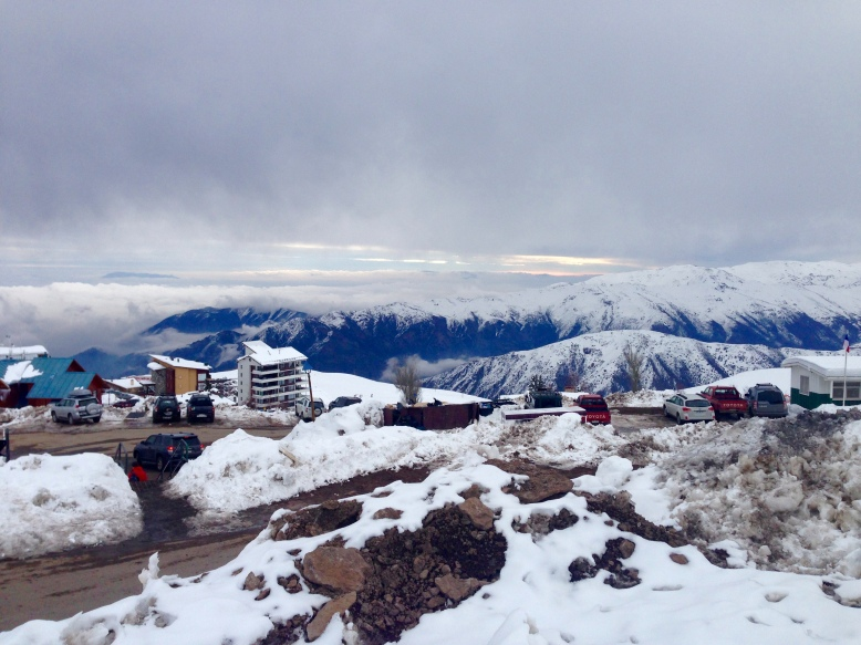 Majestic Mountains of El Colorado, Chile