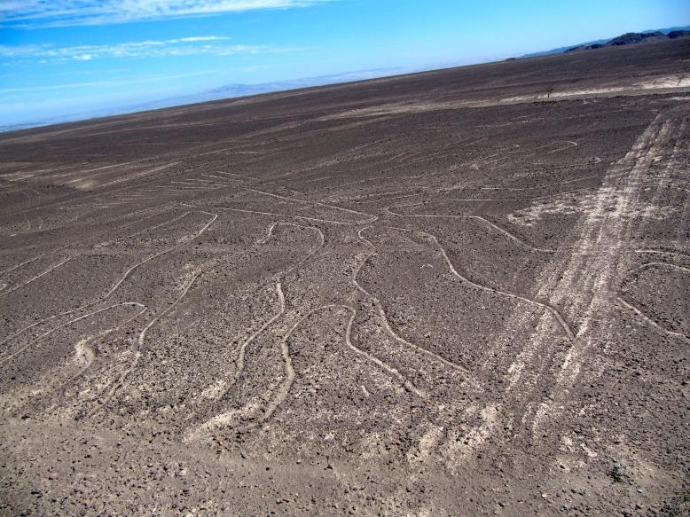 Nasca Lines in Peru.